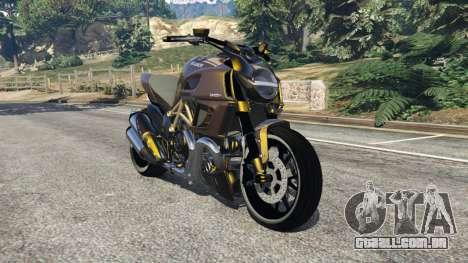 Ducati Diavel Carbon 11 v1.1 para GTA 5