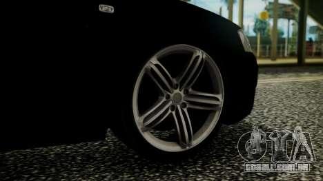 Audi A3 para GTA San Andreas traseira esquerda vista