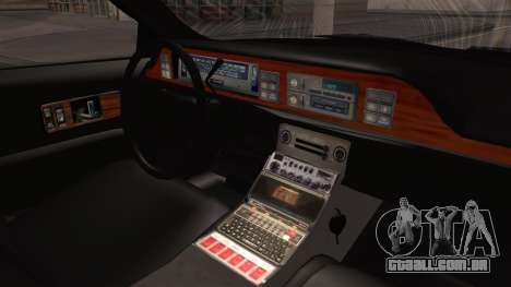 Chevy Caprice Station Wagon 1993-1996 NYPD para GTA San Andreas vista direita