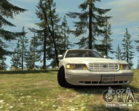 2003 Ford Crown Victoria para GTA 4 traseira esquerda vista