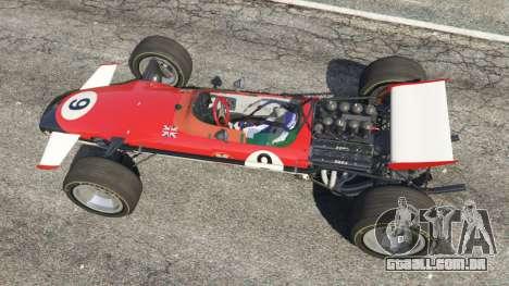 GTA 5 Lotus 49 1967 [ailerons] voltar vista