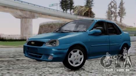 Chevrolet Corsa Classic 2009 v3 para GTA San Andreas