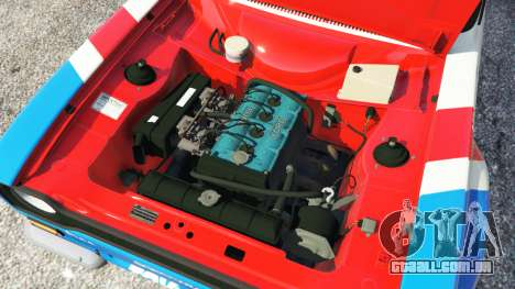 GTA 5 Ford Escort MK1 v1.1 [JE Pistons] traseira direita vista lateral