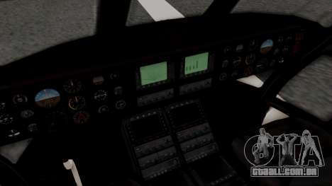 GTA 5 Cargobob para GTA San Andreas vista traseira