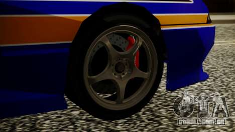 Elegy NR32 with Neon Exclusive PJ para GTA San Andreas traseira esquerda vista