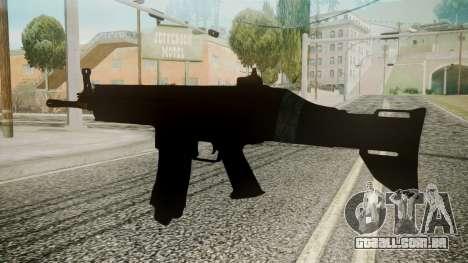 SCAR-L Battlefield 3 para GTA San Andreas segunda tela