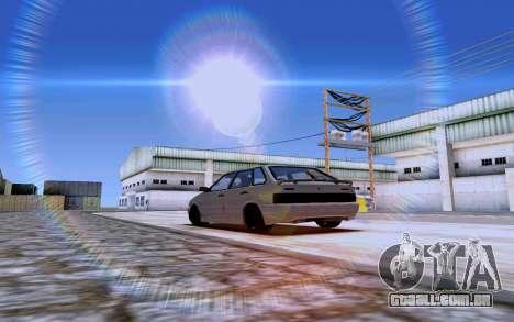 2114 Turbo para GTA San Andreas esquerda vista