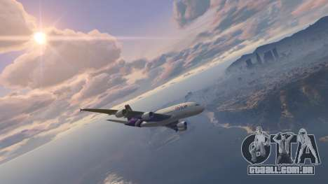 GTA 5 Airbus A380-800 v1.1 segundo screenshot