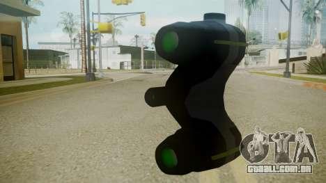 Atmosphere NV Goggles v4.3 para GTA San Andreas