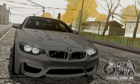 BMW M4 F82 para GTA San Andreas vista interior