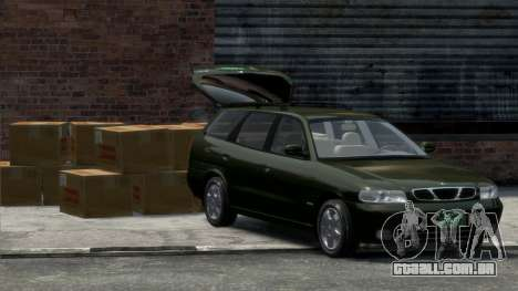 Daewoo Nubira I Spagon 1.8 DOHC 1998 para GTA 4 vista direita