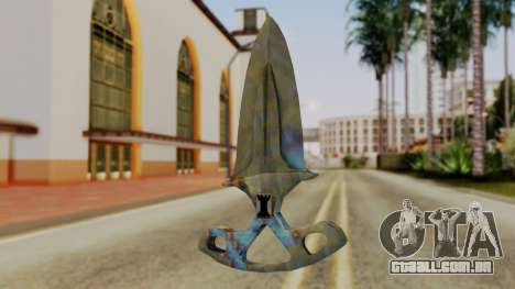 Sombra Punhal endurecimento da Superfície para GTA San Andreas segunda tela