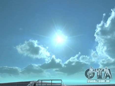 Realista Skybox HD 2015 para GTA San Andreas segunda tela