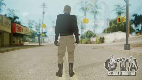 Venom Snake [Jacket] Bast Arm para GTA San Andreas terceira tela