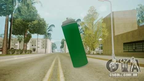 Atmosphere Spraycan v4.3 para GTA San Andreas segunda tela
