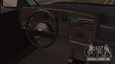 Ford Versailles GL 2.0i 1992-1993 para GTA San Andreas traseira esquerda vista