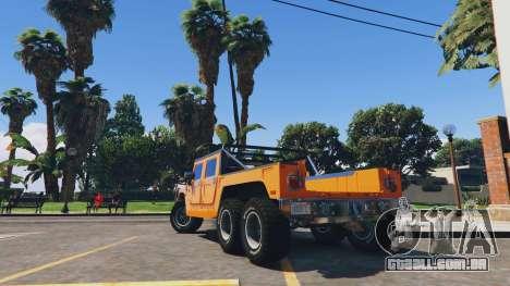 Hummer H1 6X6 v2.3 para GTA 5