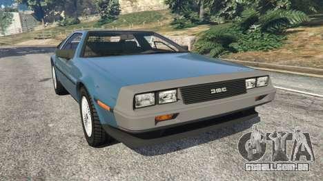 DeLorean DMC-12 v1.2 para GTA 5