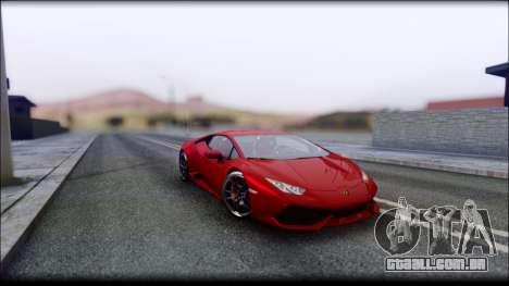KISEKI V4 para GTA San Andreas sétima tela