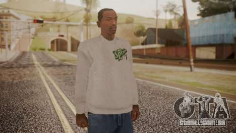 Sprunk Sweater Gray para GTA San Andreas