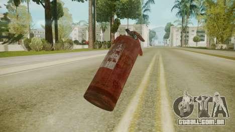 Atmosphere Fire Extinguisher v4.3 para GTA San Andreas segunda tela
