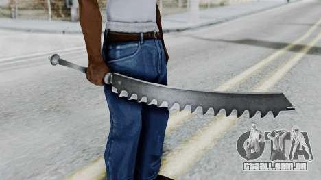 Kaine Sword para GTA San Andreas terceira tela