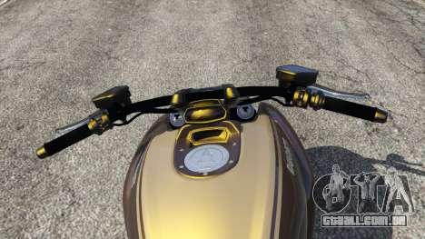GTA 5 Ducati Diavel Carbon 11 v1.1 traseira direita vista lateral