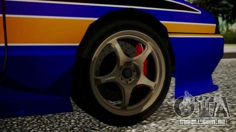 Elegy NR32 without Neon Exclusive PJ para GTA San Andreas traseira esquerda vista