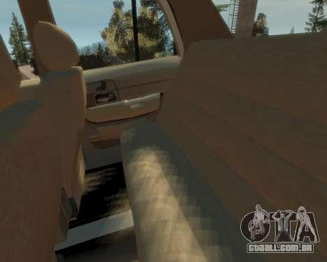 2003 Ford Crown Victoria para GTA 4 vista interior