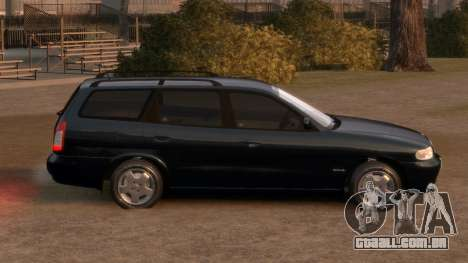 Daewoo Nubira I Spagon 1.8 DOHC 1998 para GTA 4 vista lateral