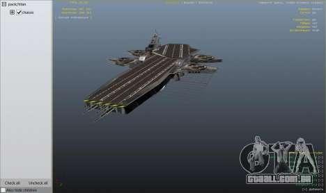 GTA 5 S.H.I.E.L.D. Helicarrier nono screenshot