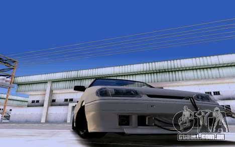 2114 Turbo para GTA San Andreas vista direita