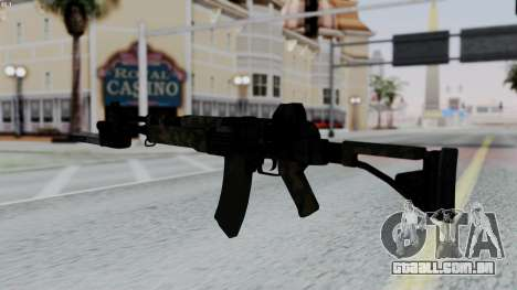 AK-47 from RE6 para GTA San Andreas segunda tela