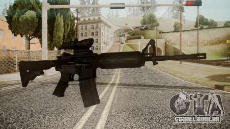M4 by catfromnesbox para GTA San Andreas