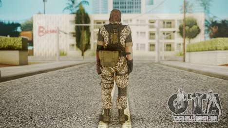 Venom Snake Animals para GTA San Andreas terceira tela