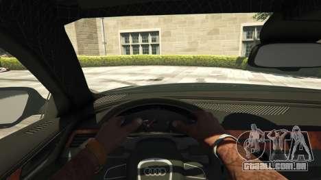 GTA 5 Audi A8 v1.1 voltar vista