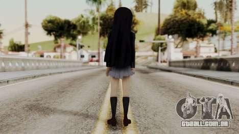 K - ON Remake Mio Akiyama para GTA San Andreas terceira tela