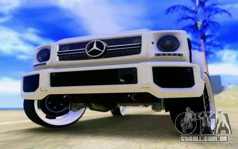 Mercedes-Benz G65 AMG para o motor de GTA San Andreas