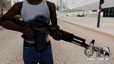 AK-103 from Special Force 2 para GTA San Andreas terceira tela