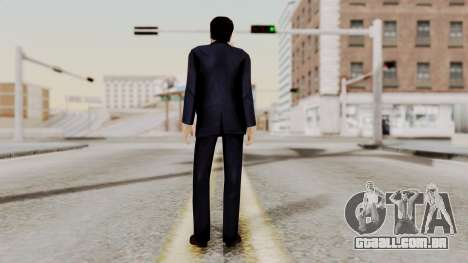 Agent Mulder (X-Files) para GTA San Andreas terceira tela