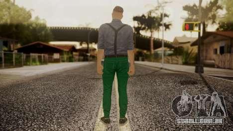 GTA Online Skin Hipster para GTA San Andreas terceira tela