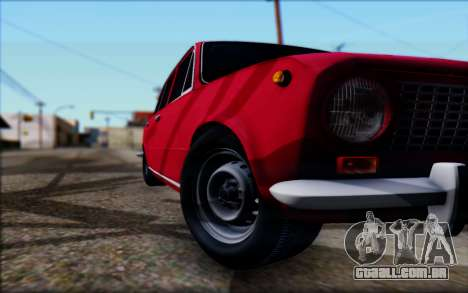 VAZ 2101 V1 para GTA San Andreas vista interior