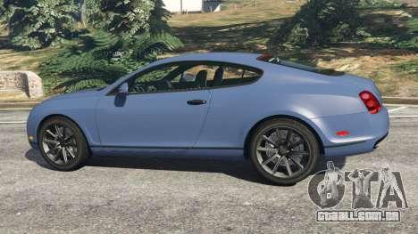 GTA 5 Bentley Continental Supersports [Beta2] vista lateral esquerda