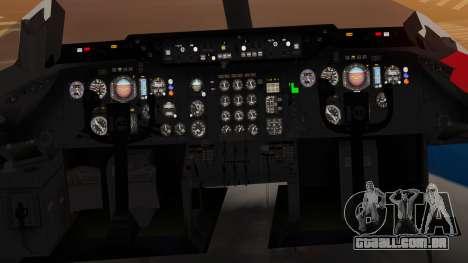 DC-10-10 United Airlines (80s Livery) para GTA San Andreas vista traseira