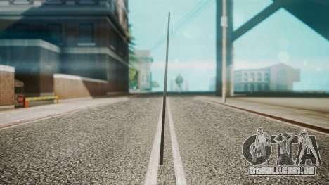 Pool Cue HD para GTA San Andreas segunda tela