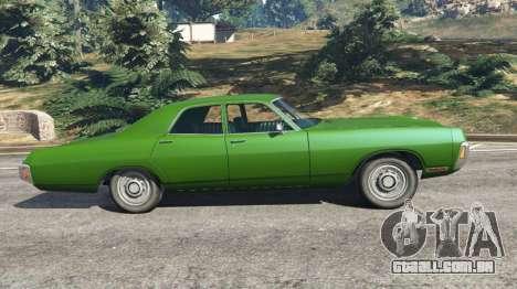 GTA 5 Dodge Polara 1971 v1.0 vista lateral esquerda