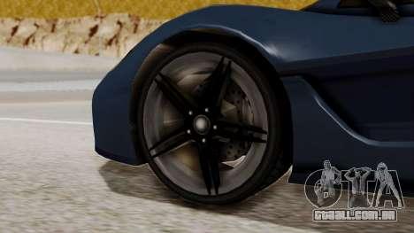 Citric Progen T20 para GTA San Andreas traseira esquerda vista
