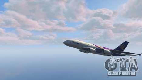 Airbus A380-800 v1.1 para GTA 5