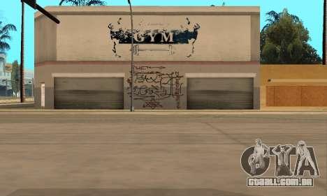 HooverTags para GTA San Andreas por diante tela