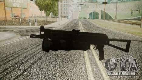 PP-19 Battlefield 3 para GTA San Andreas segunda tela